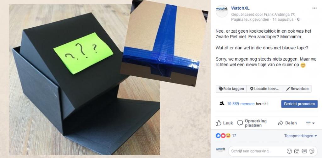 Facebookactie Jcob horloges